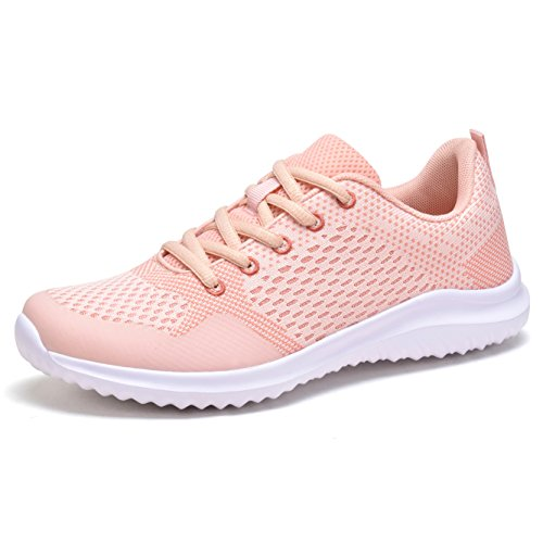 Women Fashion Sneakers Sport Shoes (Pink) - 2