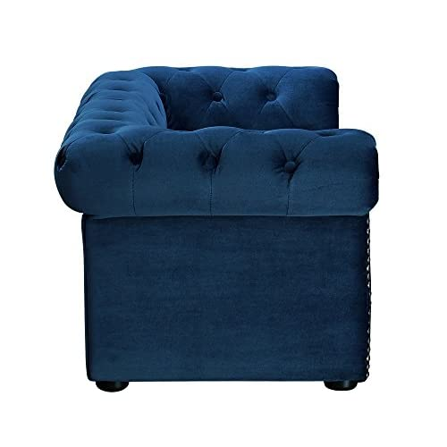 TOV Furniture The Dachshund Collection Velvet Upholstered Handmade Elevated Sofa Pet Dog Bed well-wreapped