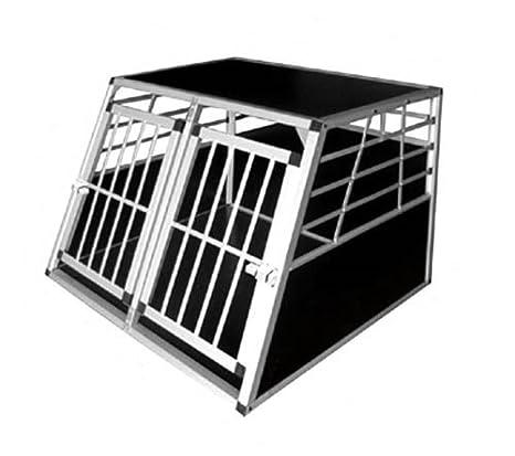 Box Doppio Trasporto Cani Trasportino Per Auto Gabbia Animali In