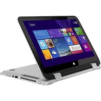 HP Pavilion x360 2-in-1 Touchscreen Laptop - 4GB Memory, 500GB Hard Drive, Windows 8.1, Silver