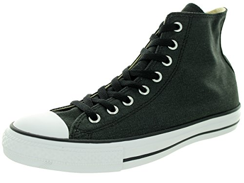 Color Classic Black All Black Casual Canvas Style and Uppers Taylor and Durable Chuck High in Star Converse Unisex Top Sneakers xpnOvO