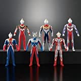 Ultraman Heroes Best 02 (6 figures) Bandai [JAPAN]