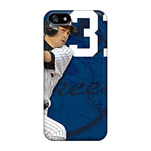 Shockproof Hard Phone Case For Iphone 5/5s (nAI19697iAWk) Allow Personal Design High-definition New York Yankees Pattern