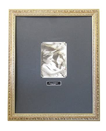 Amazoncom Guest Signature Antique Silver Frame A2 Black Or