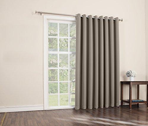 curtain panel blackout patio door home energy efficient grommet size 100 x 84 29927474763 ebay. Black Bedroom Furniture Sets. Home Design Ideas