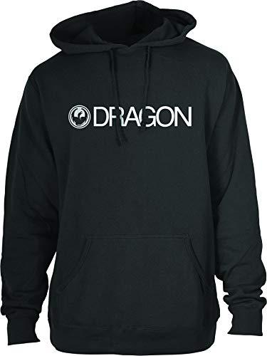 Dragon Alliance Mens Trademark Staple Line Hoody Pullover Sweatshirt Large Black
