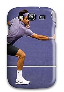 Galaxy S3 Roger Federer Print High Quality Tpu Gel Frame Case Cover 9905044K73665594