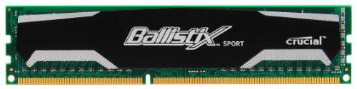 Crucial Ballistix Sport 4 Not a kit (Single) DDR3 1333 (PC3 10600) 240-Pin DDR3 SDRAM BL51264BA1339