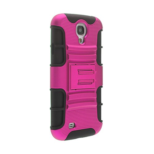 Galaxy S4 Case, GISMO [Dual Layer] [Hybrid Impact Protection] [Two Colors] [Non-Slip]...