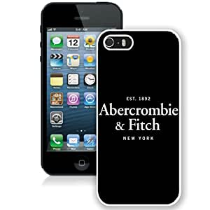 Beautiful And Unique Designed Case For iPhone 5S With Abercrombie And Fitch 14 White Phone Case