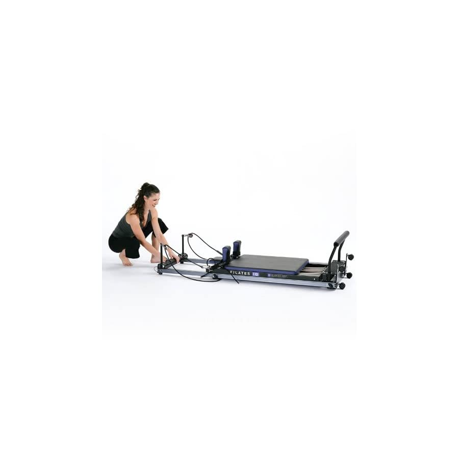 Balanced Body Pilates IQ Reformer, with Library Wheels