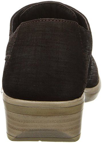 Women's Flat Leather Brown Mine Kedma Naot 8qxvFOF