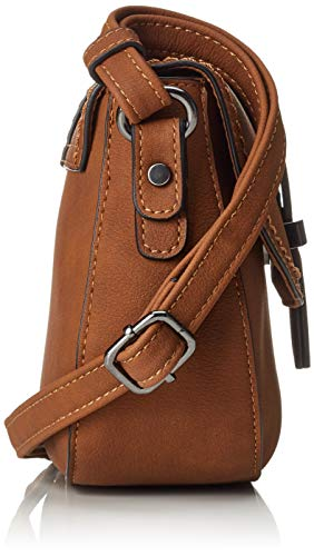22 Elina Women's Tom Bag Cross Body Tailor Brown Cognac UwUxn8