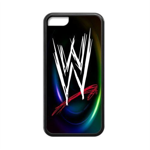 Artsalong Apple iPhone 5C (Laser Technology) Skin World Wrestling Entertainment WWE Cool Collections Design Rubber One Piece Case Cover