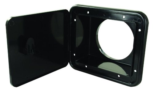Replacement Collar Attachment Plate - JR Products L8D83-A Black Thumb Lock for Sewer Hose/Storage Hatch