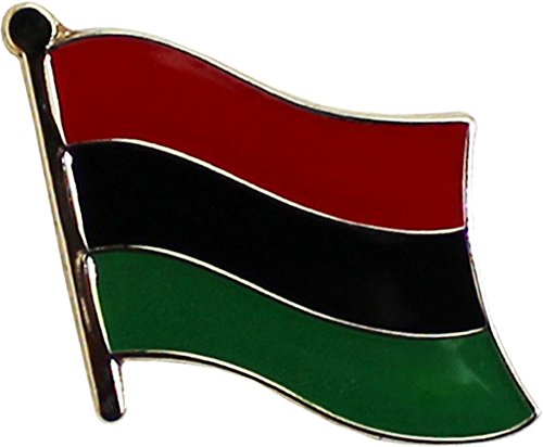 Flagline African American - Single Lapel Pin