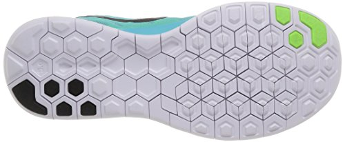 Nike Free 5.0, Sneaker Femme Turquoise (Light Aqua/Black-Light Retro-Green Glow)