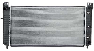 Prime Choice Auto Parts RK935 New Complete Aluminum Radiator (Escalade Cadillac Replacement Radiator)