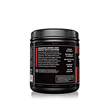 Kaged Muscle Amino Synergy, Vegan EAA Powder, Essential Amino Acid Supplement with Cocunut Water, Essential Aminos, EAA s, Raspberry Lemonade, 30 Servings
