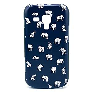 JOE Indian Elephant Pattern Hard Case for Samsung Galaxy Trend Duos S7562