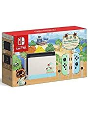 New Switch Console Animal Crossing Edition