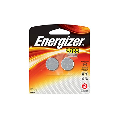 Energizer Lithium Coin Watch/Electronic Battery 2025