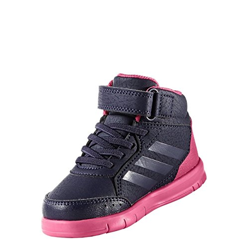 adidas Unisex Baby AltaSport Mid El I Sneaker, EU Mehrfarbig (Tinnob / Pumeno / Supros)