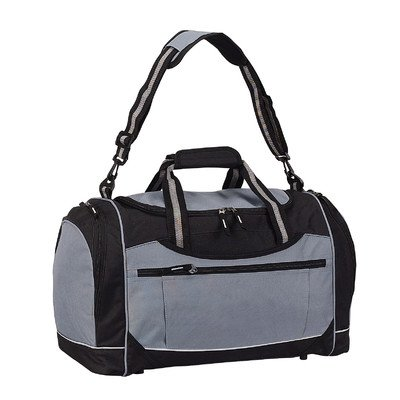 Grey Travelwell 20 Gym Duffel with Cooler Color