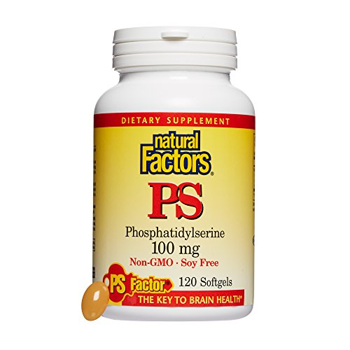 (Natural Factors - PhosphatidylSerine (PS) 100mg, Supports Healthy Brain Cell Activity, 120 Soft Gels)