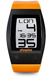 Phosphor Men's WP003 World Time Digital Watch