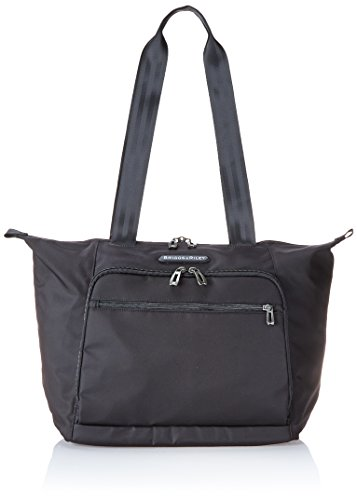 Briggs Luggage Riley & Tag (Briggs & Riley Shopping Tote, Black, One Size)