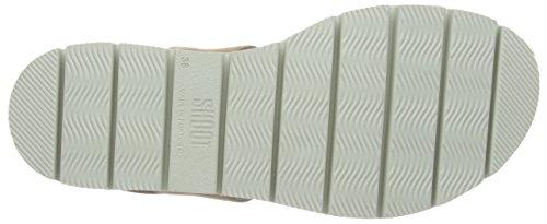Chunky Schuhe Sandale Sh SHOOT Keilabsatz Beige mit Sandalen und 164446dd Plateausohle Damen Damen Nudo Beige AXwpxqxU