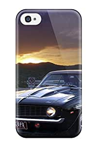 Slim New Design Hard Case For Iphone 4/4s Case Cover Muscle Car