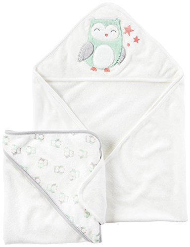 Carter's Carter's Unisex Baby Bath Towels D04g054, Assorted, One Size Baby