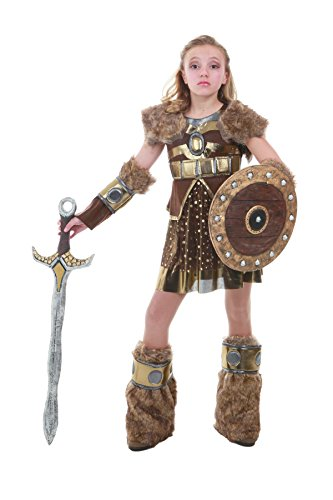 Princess Paradise Hildagaard Warrior Costume, Tween Medium (Warrior Girl Costume)