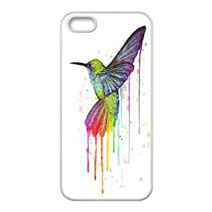 Hummer Bird Pattern Hard Shell Cell Phone Case for Iphone Case 5,5S TSL319585