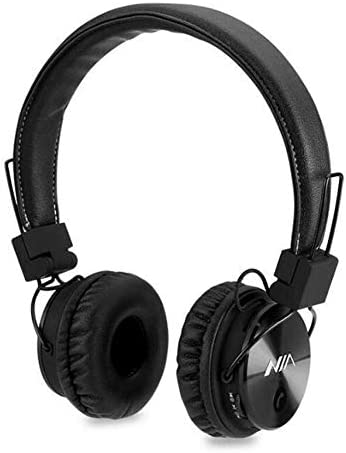 X3 Wireless Stereo Powerful Bass Bluetooth Headphone Headset Fm Radio,Micro SD,Hands Free Call Receiving, Fold Able Sport Game Headphone (Black)