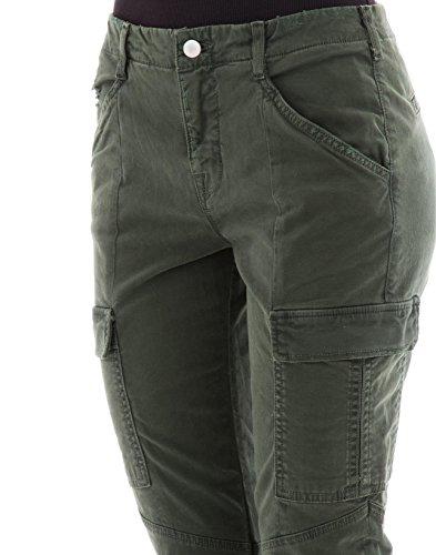 J Brand Pantaloni Donna JB001079J30603 Cotone Verde