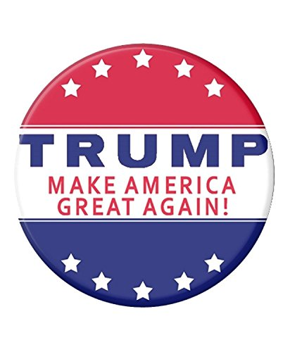 Oliasports Donald President 2016 Make America Great Again Campaign Buttons, Multi (Trump 5star)
