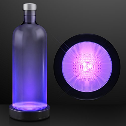 FlashingBlinkyLights Purple LED Light Base Bottle Glorifier