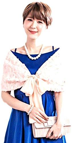 (アクアランド) AQUALAND フラワーシフォンボレロ パーティー ショール ドレス パーティー