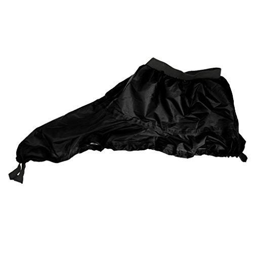 Generic-Universal-Full-Adjustable-Kayak-Spray-Skirt-Deck-Sprayskirt-Cover-Black-New