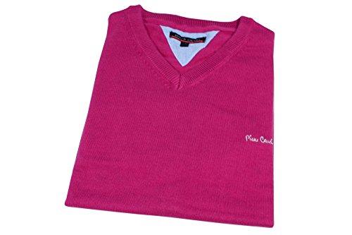 Pullover PIERRE CARDIN Herren V-Ausschnitt L Pink