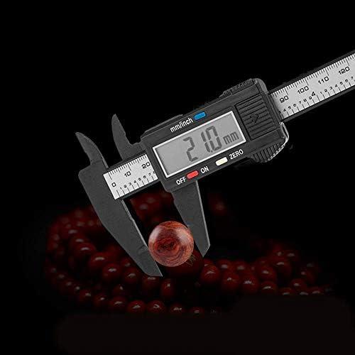 PJPPJH Plastic Electronic Digital Caliper 0-150mm Digital Caliper Vernier Caliper Measuring Ruler (Size : 0-150mm)