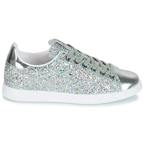 de Victoria 12558agua Chaussures sport Tenis Glitter Deportivo Agua ZrYZ6B