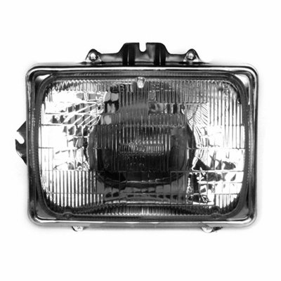 New Left Side Headlight Sealed Beam For 1992-2013 Ford Van Econoline and 99-10 Ford Pickup F450/ F550 Superduty Includes Bulb/Retainer And Trim Ring FO2500126