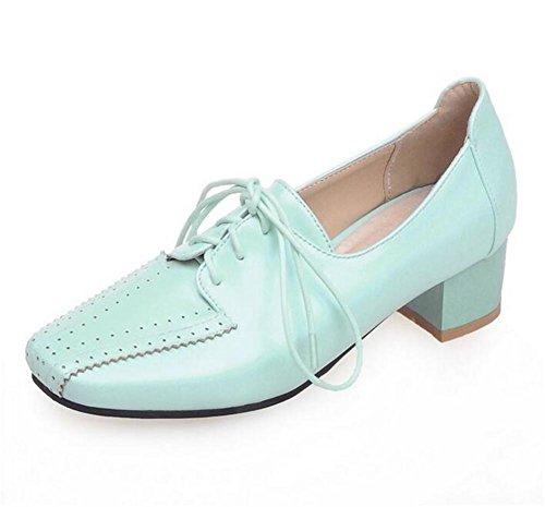 Arriba 36 Blue ata Inclinados 39 para para los a ásperos Zapatos Casual Corte BLUE XIE Ayudar Solo Mujer para bajo aSHYxqw