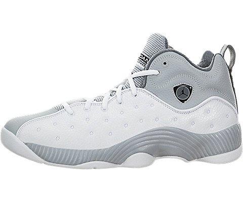 Air Jordan Jumpman Team II,White/Black/Wolf Grey/Cool Grey,9.5 D(M) US by Jordan