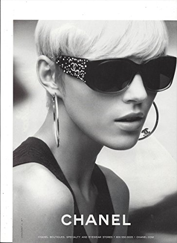 --Magazine PRINT AD--For Chanel Sunglasses 2008 --PRINT - Chanel Sunglasses