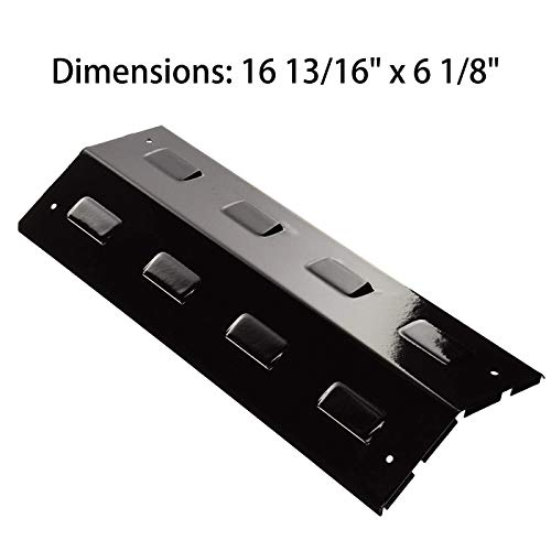 BBQ-Element Grill Heat Plate Shields Replacement for BBQ Pro 415.23668310 and Charbroil 463620415, 16 13/16